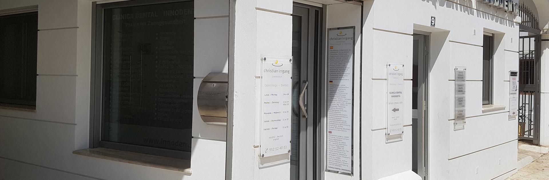 Öffnungszeiten - Sprechzeiten Clinica Dental Innodenta