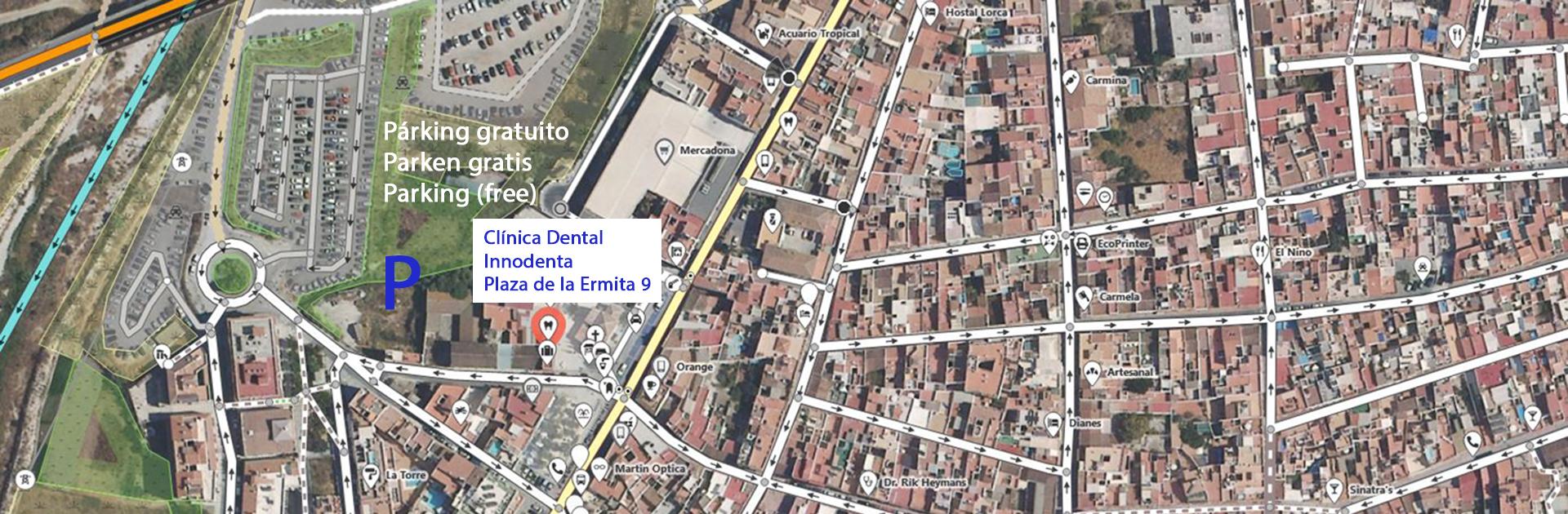 Satellitenfoto 'Clinica Dental Innodenta' in Nerja
